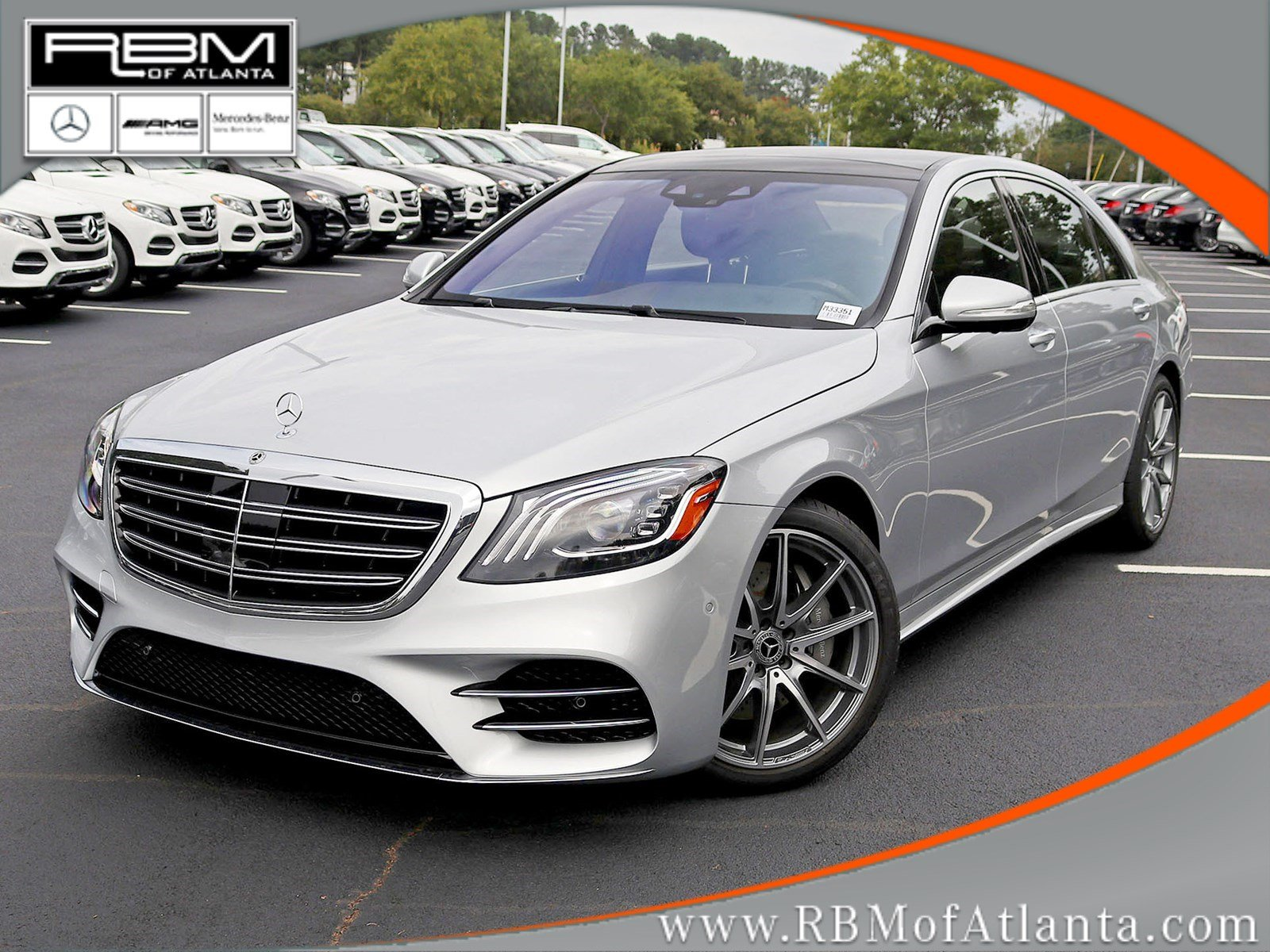 New 2019 Mercedes Benz S Class S 450 SEDAN in Atlanta M