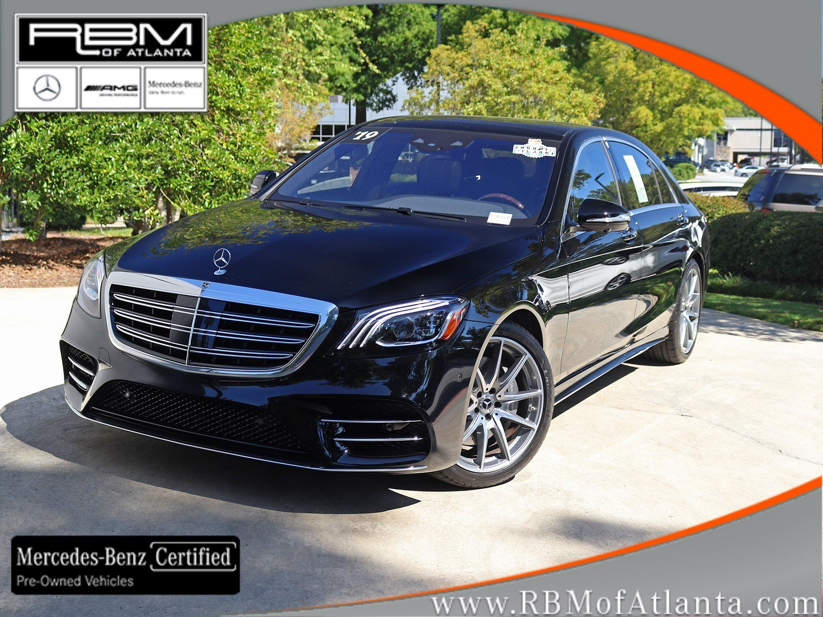 Certified Pre-Owned 2019 Mercedes-Benz S-Class S 560 Sedan