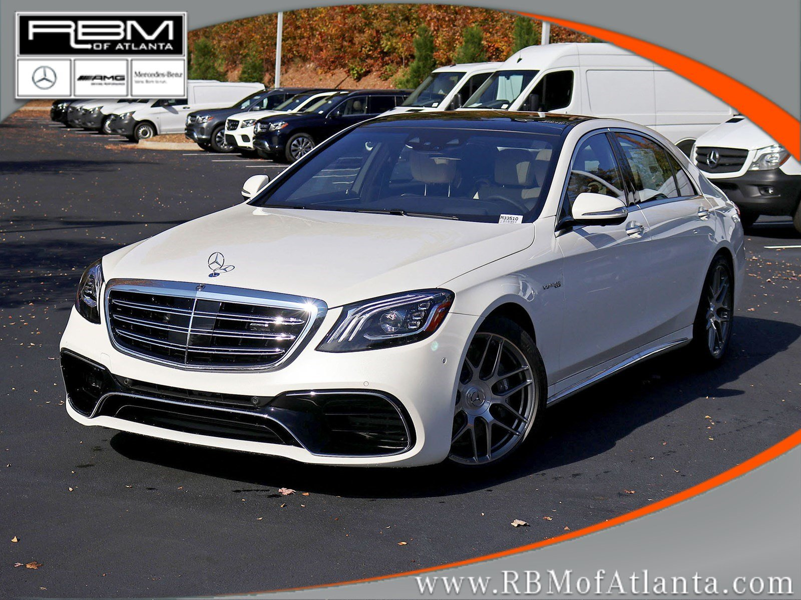 New 2019 Mercedes Benz S Class AMG S 63 SEDAN in Atlanta M