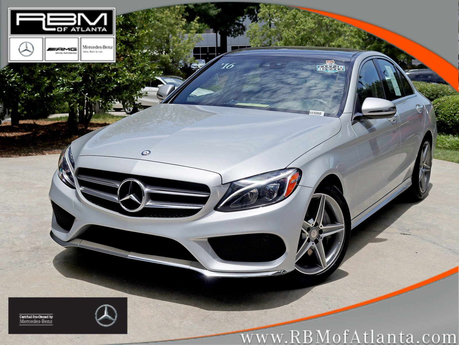 Certified Pre-Owned 2016 Mercedes-Benz C-Class C 300 Sport Sedan
