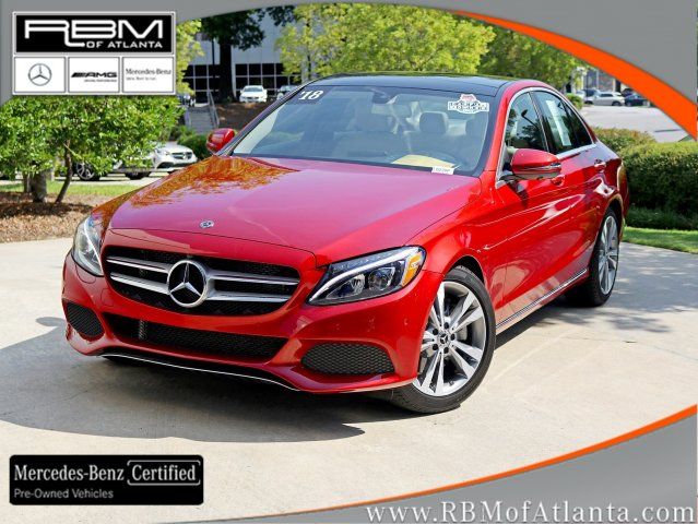 Certified Pre-Owned 2018 Mercedes-Benz C-Class C 300 Sedan