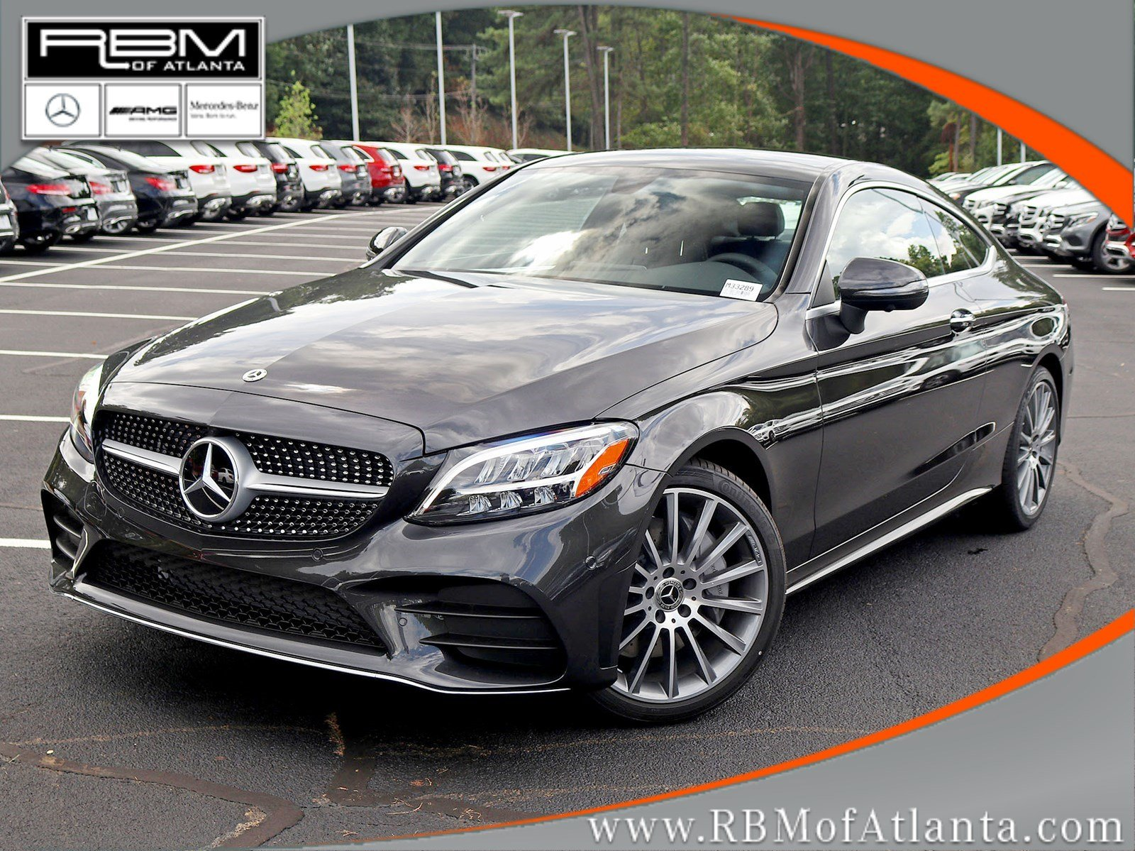 New 2019 Mercedes Benz C Class C 300 Coupe Coupe In Atlanta M33289