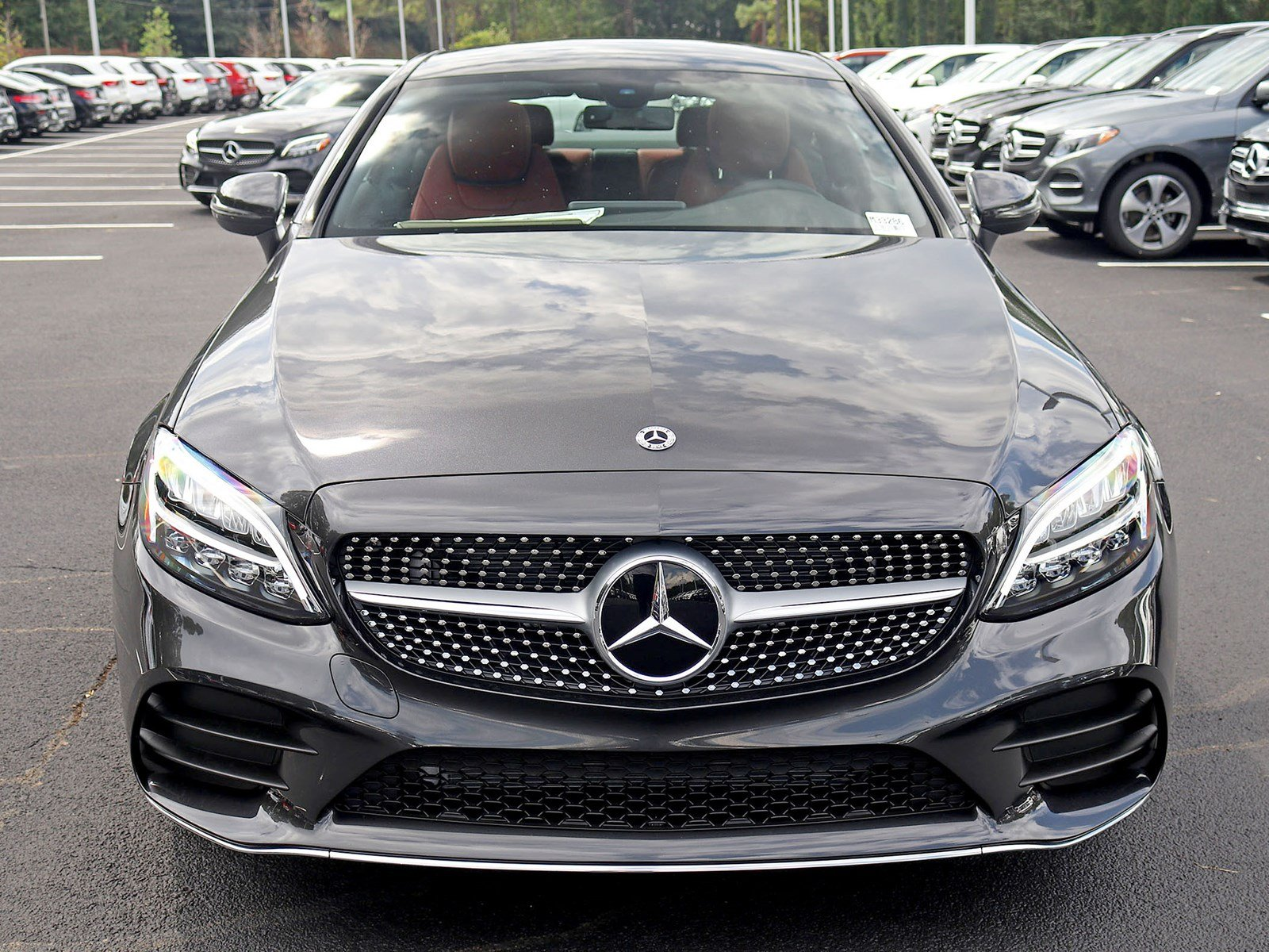New 2019 Mercedes Benz C Class C 300 Coupe Coupe in Atlanta M