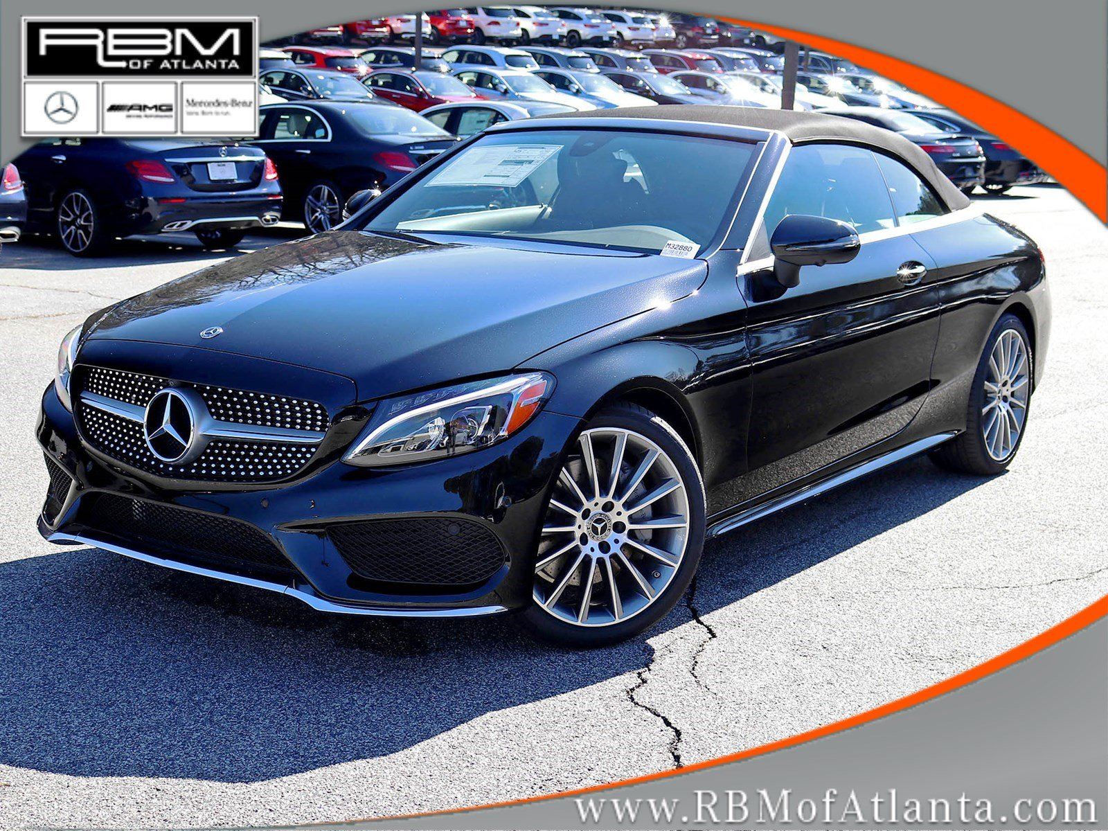 New 2018 Mercedes Benz C Class C 300 Cabriolet CABRIOLET in Atlanta