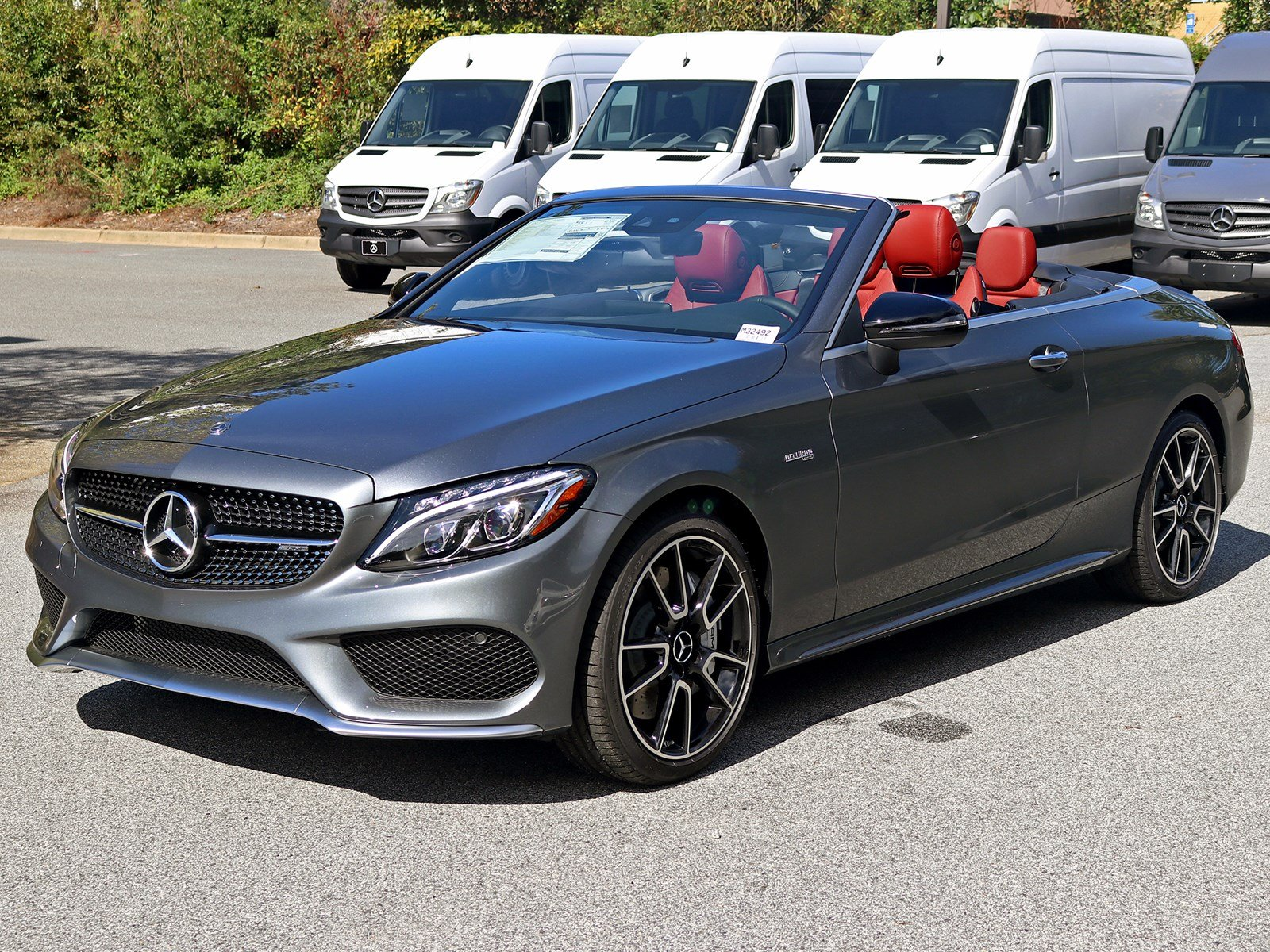 New 2018 Mercedes Benz C Class AMG C 43 Cabriolet CABRIOLET in