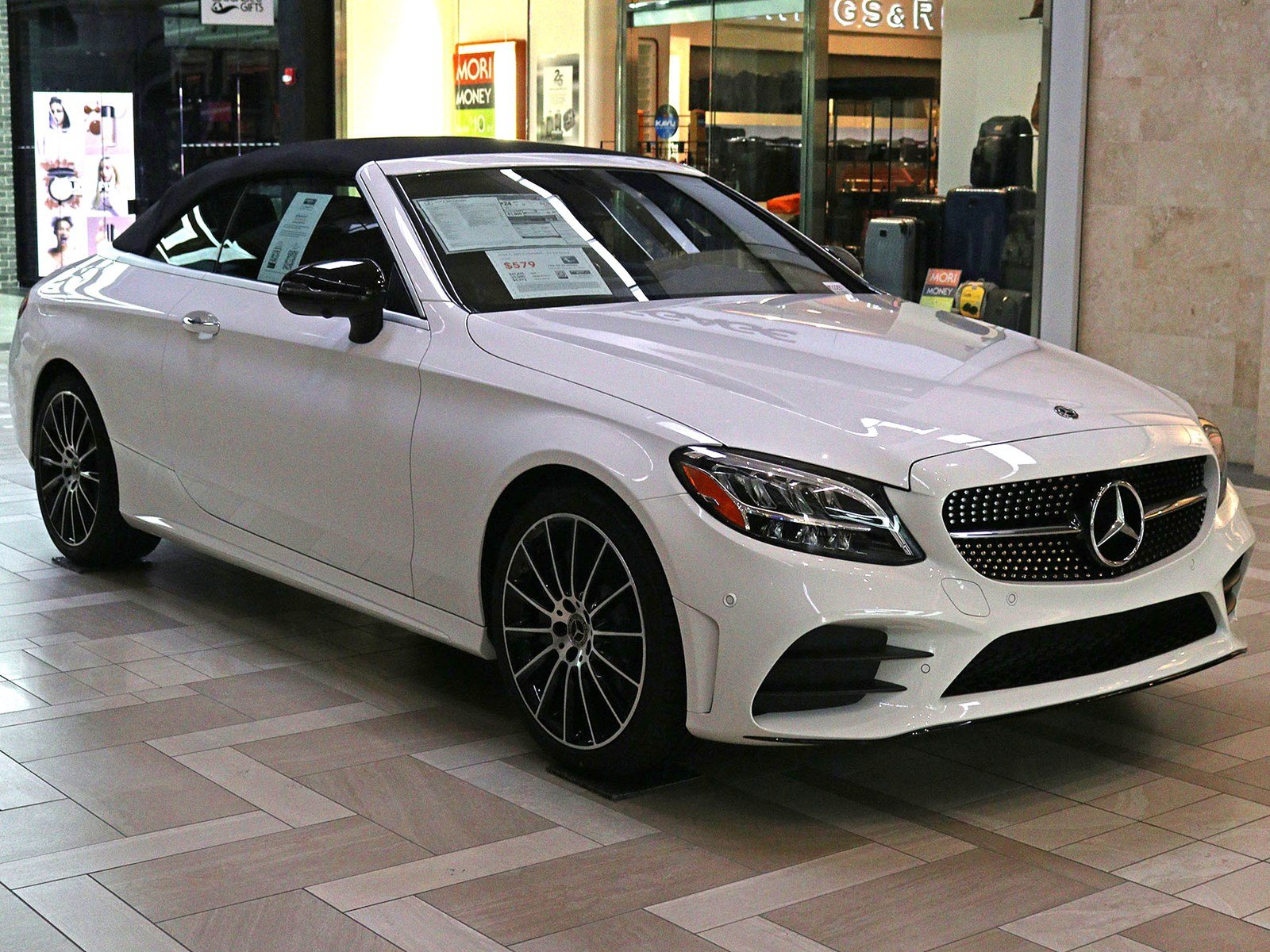 New 2019 Mercedes Benz C Class C 300 Cabriolet Convertible in
