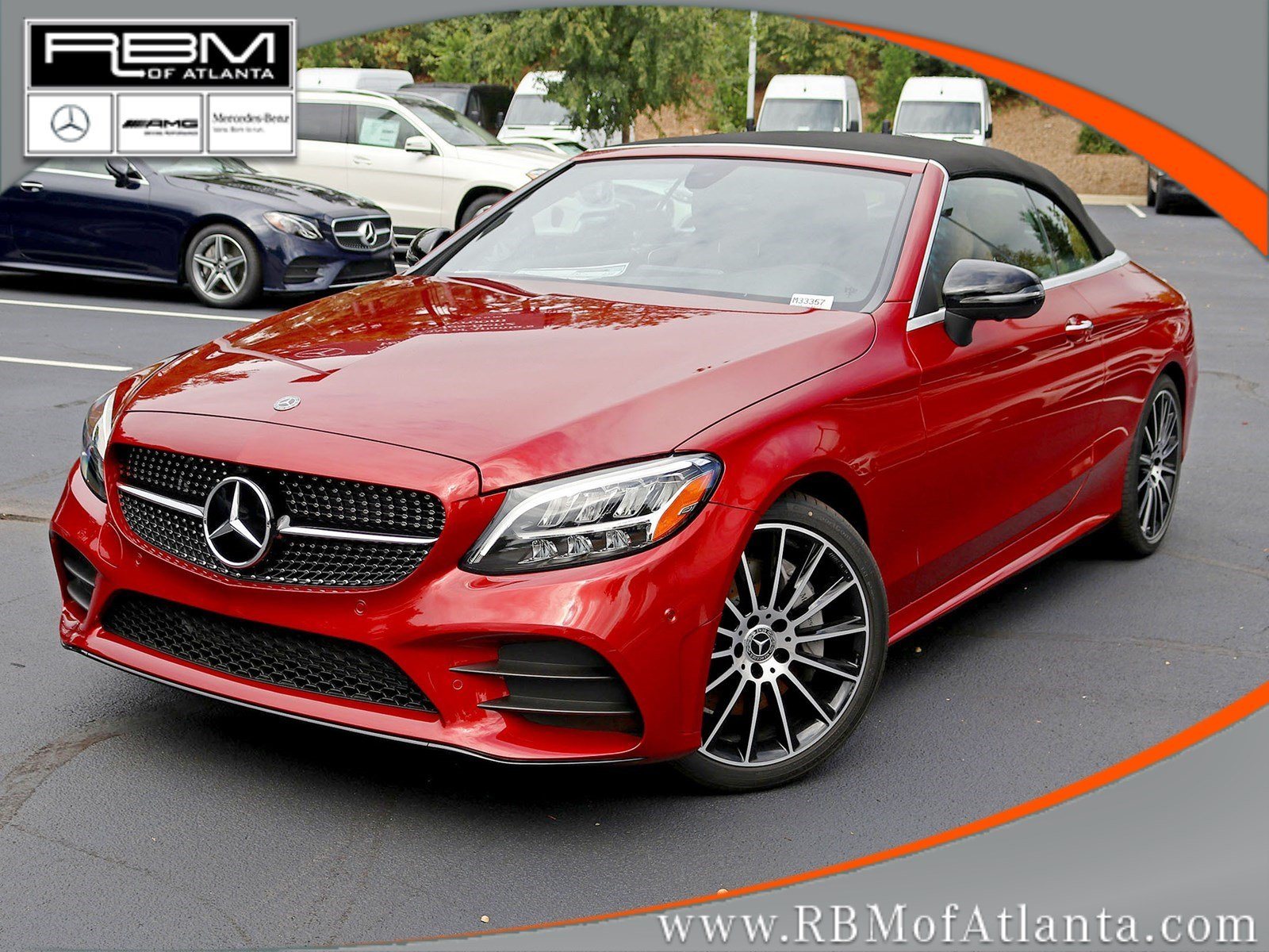New 2019 Mercedes Benz C Class C 300 Cabriolet CABRIOLET in Atlanta