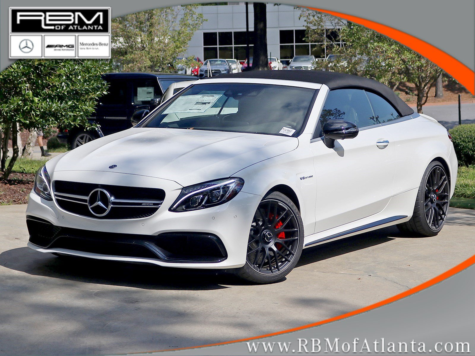 new 2018 mercedes benz c class amg c 63 s cabriolet cabriolet in atlanta m32462 rbm of atlanta. Black Bedroom Furniture Sets. Home Design Ideas