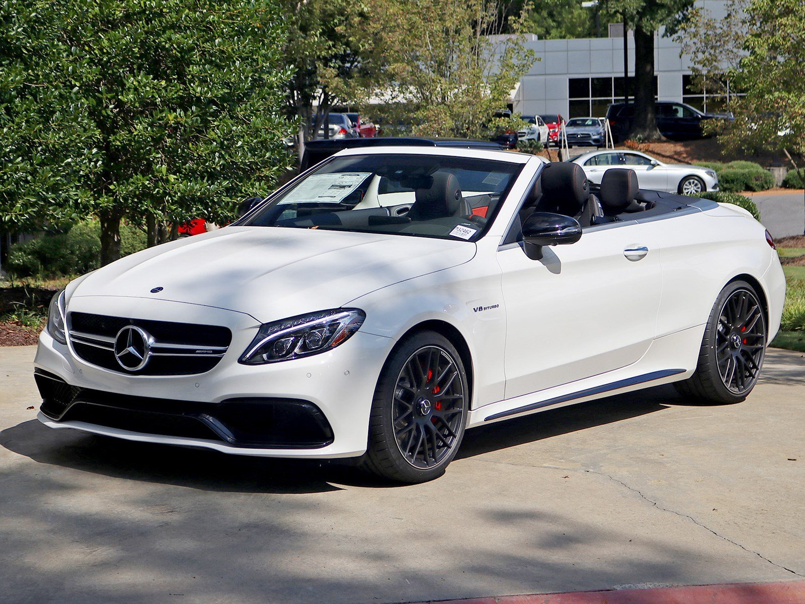 New 2018 mercedes benz c class c 63 s amg cabriolet for Mercedes benz mechanic jobs