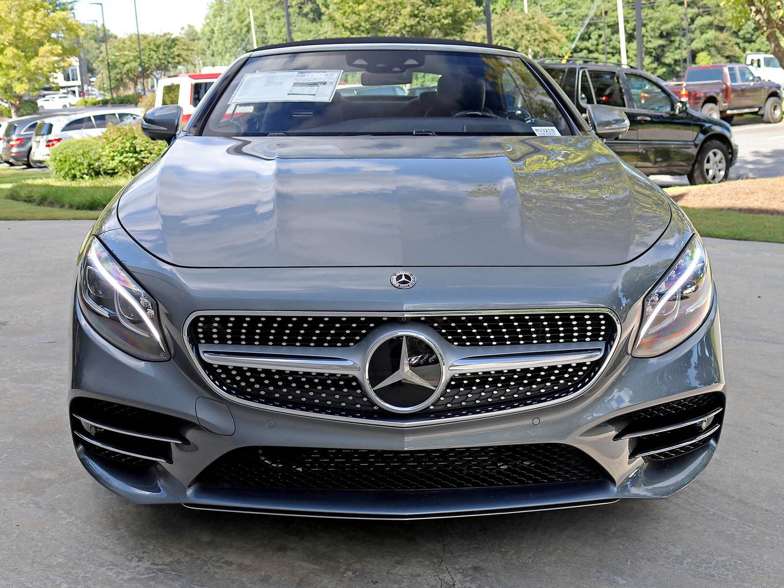 New 2018 Mercedes Benz S Class S 560 Cabriolet CABRIOLET in Atlanta