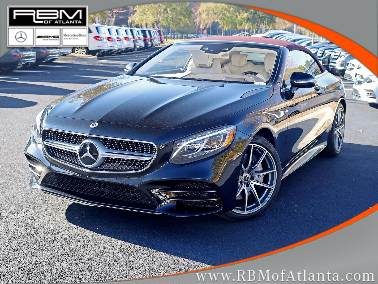 New 2019 Mercedes-Benz S-Class S 560 Cabriolet