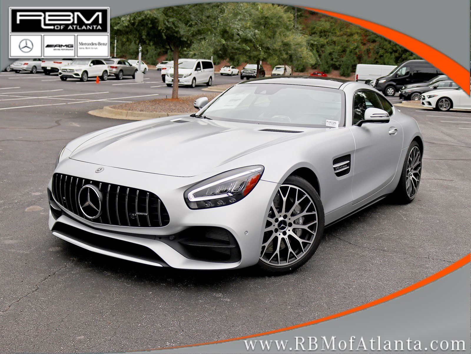New 2020 Mercedes-AMG GT AMG GT Coupe