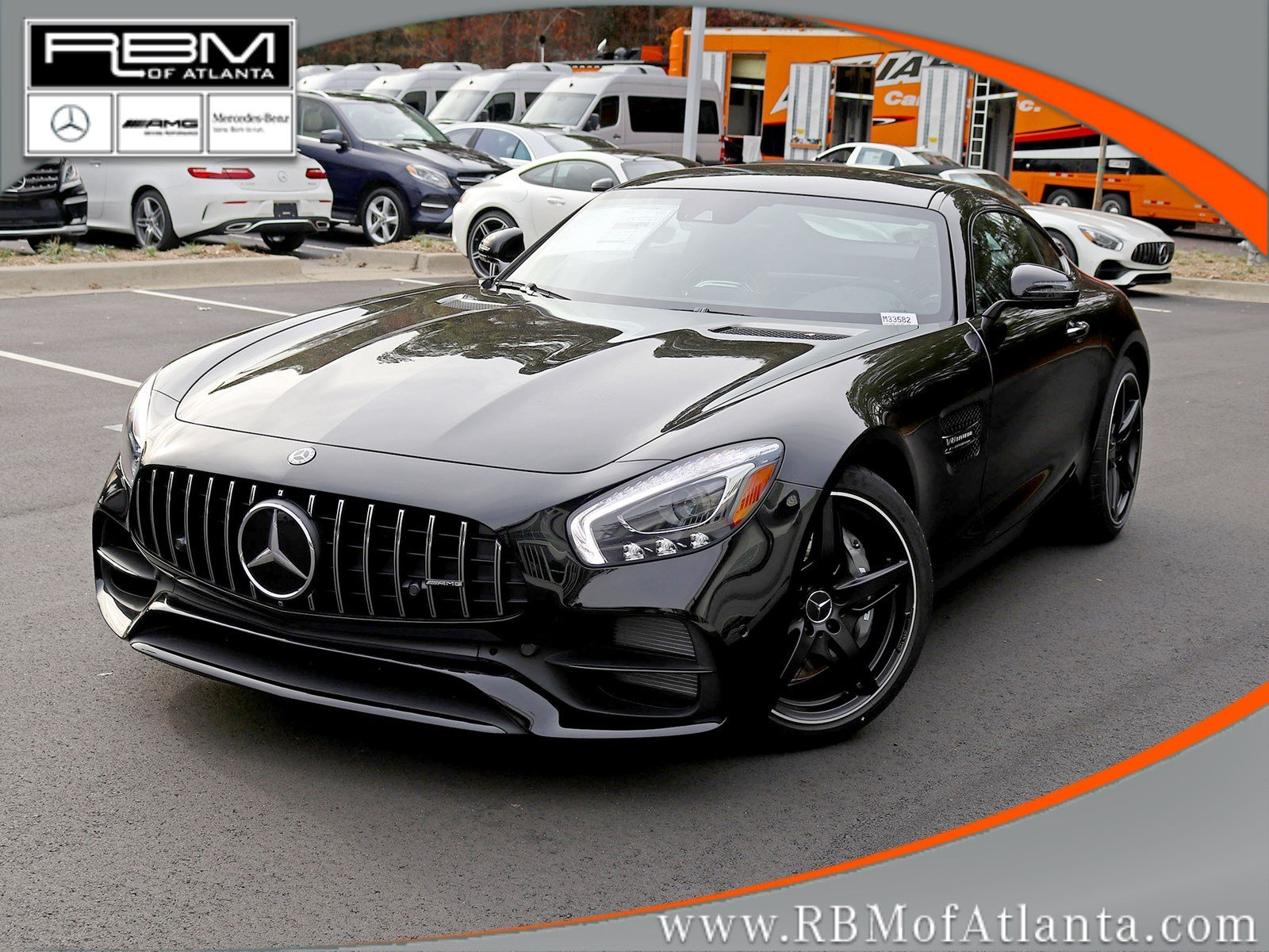 New 2019 Mercedes Benz Gt Amg Gt Coupe Coupe In Atlanta M33582