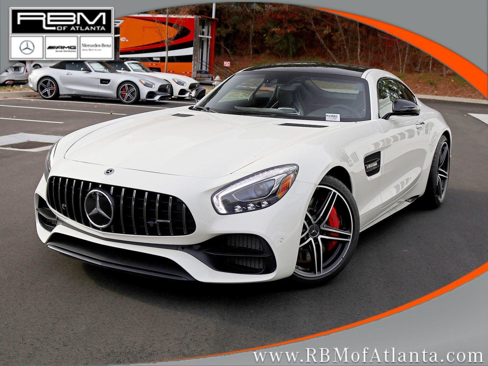 New 2019 Mercedes Benz GT AMG GT C Coupe