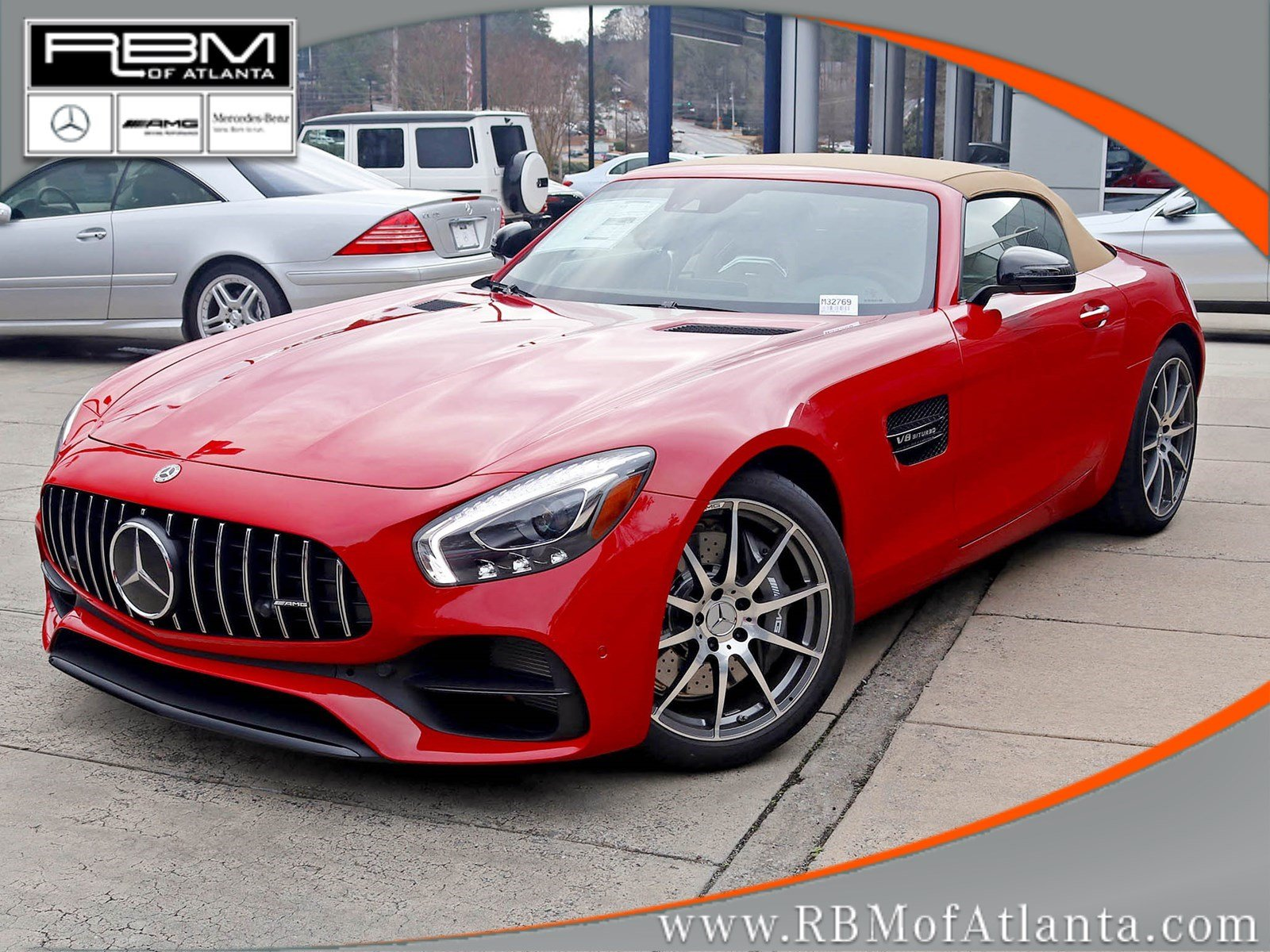 New 2018 Mercedes-Benz GT S AMG® GT Roadster Cabriolet