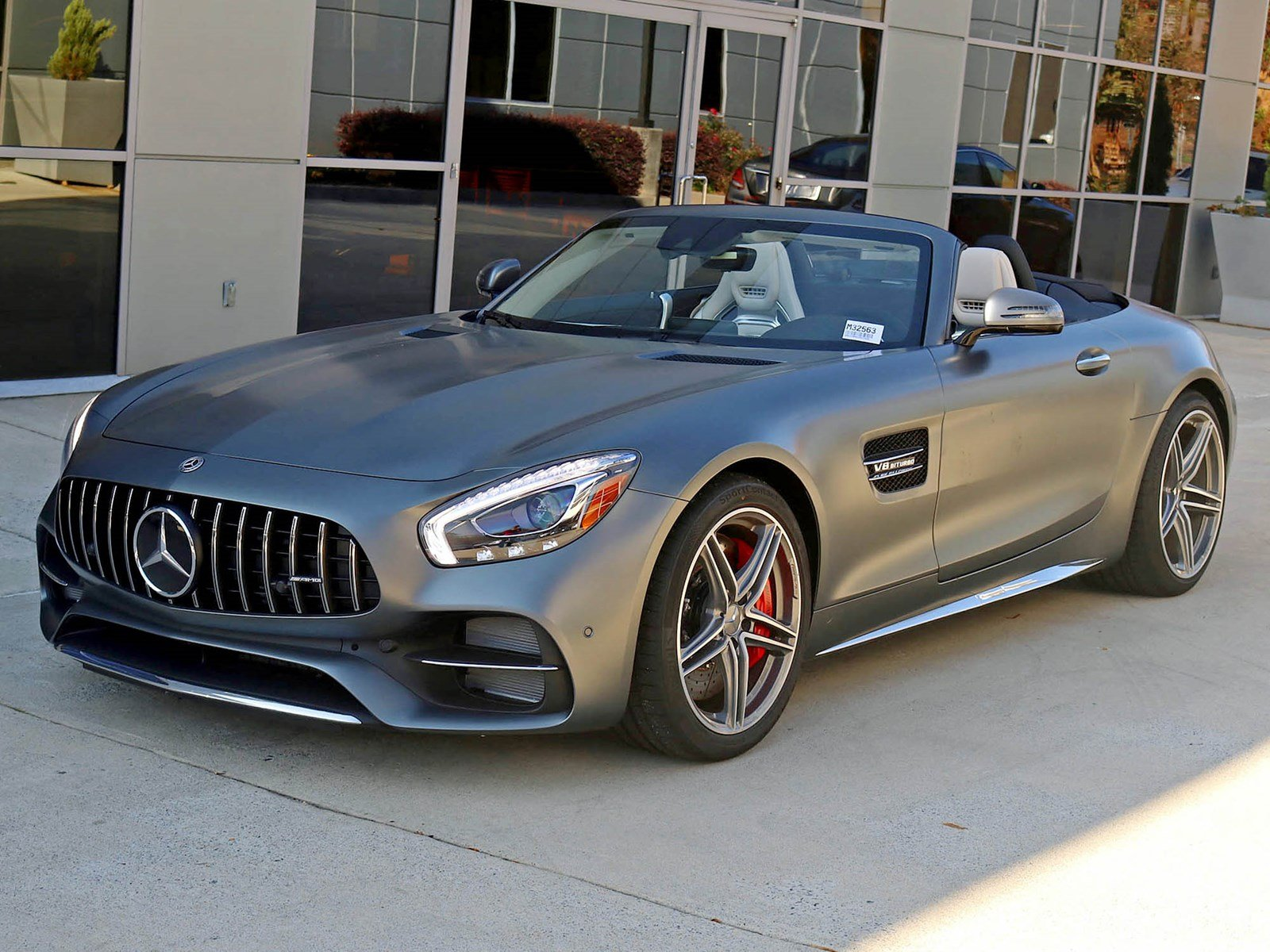 New 2018 Mercedes Benz GT C AMG GT C Roadster Coupe Coupe in