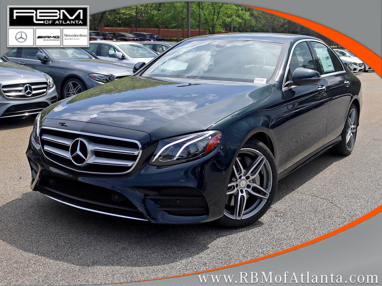 New 2017 mercedes benz e class e 300 4dr car in atlanta for Mercedes benz rbm