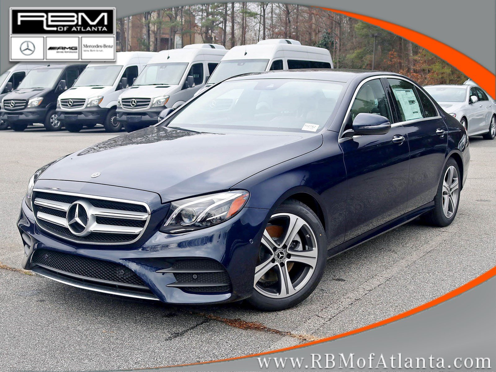 New 2018 mercedes benz e class e 300 sedan in atlanta for Pay mercedes benz online