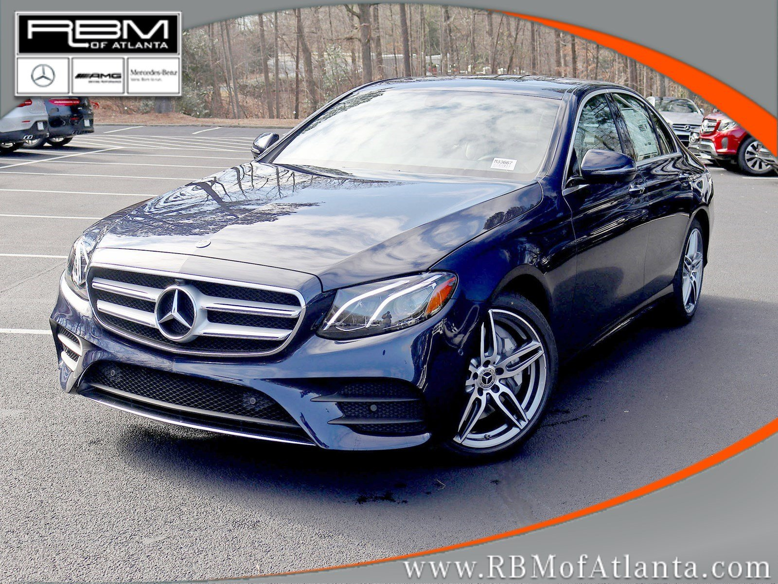 New 2019 Mercedes Benz E Class E 300 Sedan In Atlanta M33667 Rbm