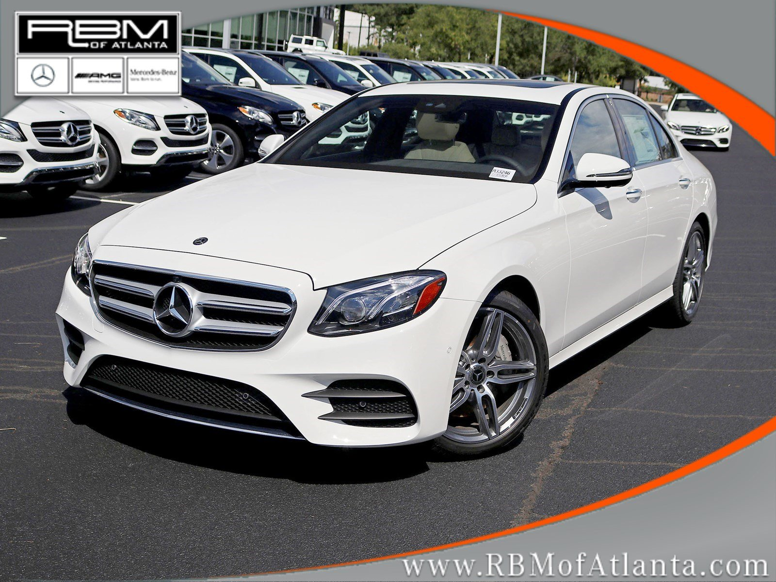 New 2019 Mercedes Benz E Class E 300 SEDAN in Atlanta M