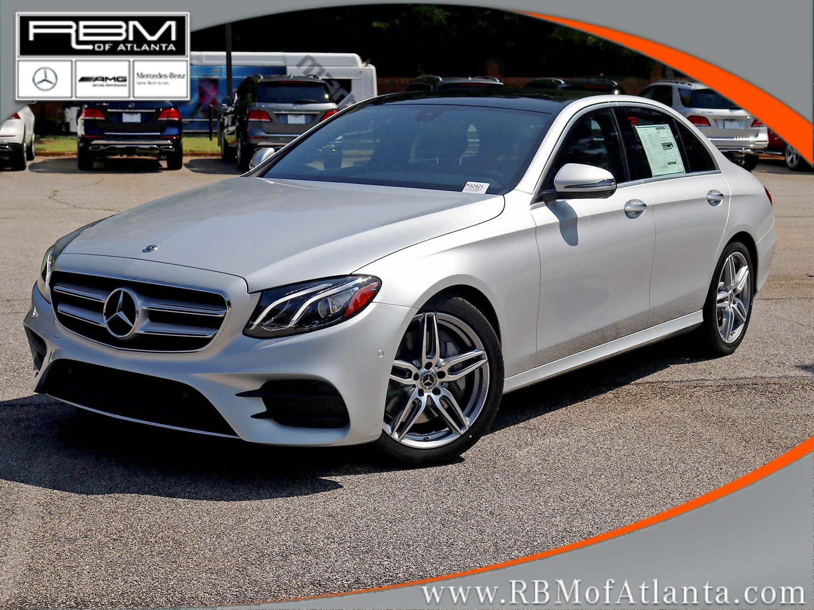 New 2018 mercedes benz e class e 300 4dr car in atlanta for Mercedes benz rbm