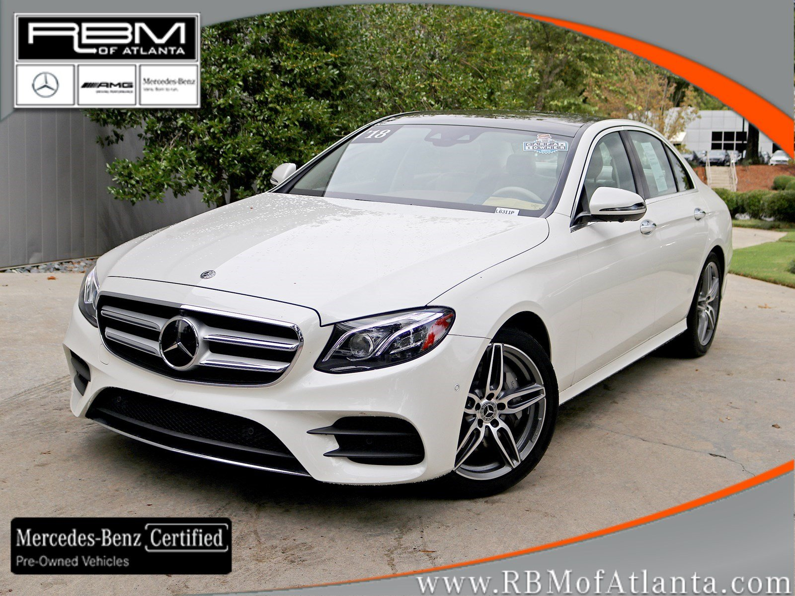 Certified Pre-Owned 2018 Mercedes-Benz E-Class E 300 4MATIC® Sedan