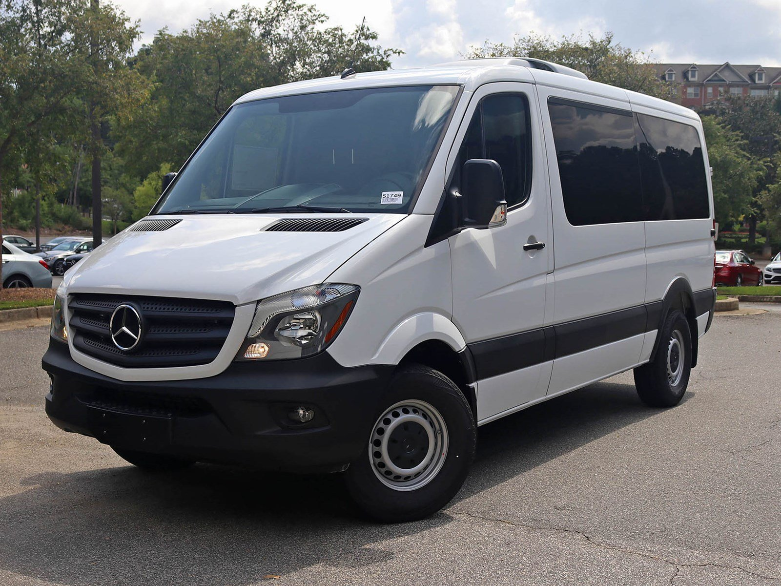 new 2017 mercedes benz sprinter 2500 passenger van passenger van in atlanta s1749 rbm of atlanta. Black Bedroom Furniture Sets. Home Design Ideas