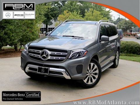 Certified Pre-Owned 2018 Mercedes-Benz GLS GLS 450 4MATIC®