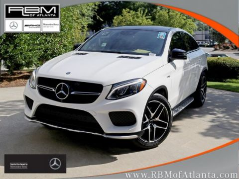 Certified Pre-Owned 2017 Mercedes-Benz GLE AMG® GLE 43 4MATIC® Coupe