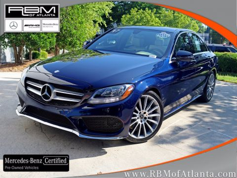 Certified Pre-Owned 2017 Mercedes-Benz C-Class C 300 Sport Sedan