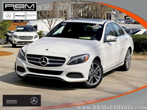 Certified Pre-Owned 2018 Mercedes-Benz C-Class C 300 4MATIC® Sedan
