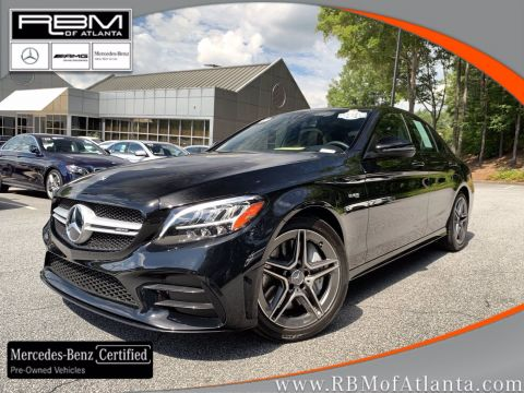 Certified Pre-Owned 2019 Mercedes-Benz C-Class AMG® C 43 4MATIC® Sedan