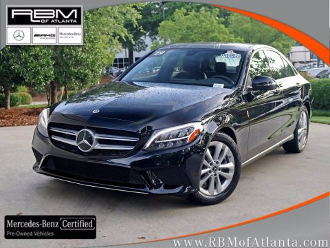 Certified Pre-Owned 2019 Mercedes-Benz C-Class C 300 Sedan