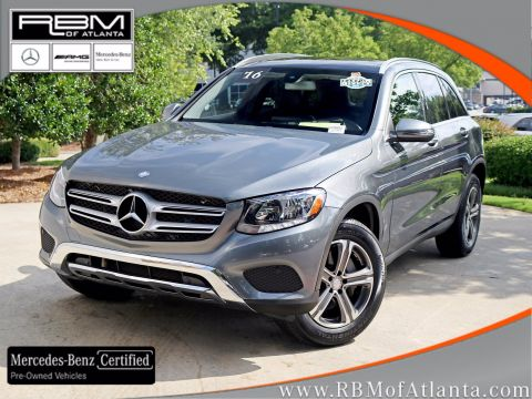 Certified Pre-Owned 2016 Mercedes-Benz GLC GLC 300 SUV