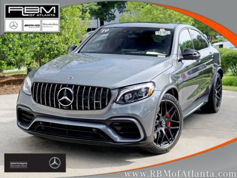 Certified Pre-Owned 2019 Mercedes-Benz GLC AMG® GLC 63 S 4MATIC® Coupe