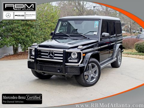 Certified Pre-Owned 2017 Mercedes-Benz G-Class G 550 4MATIC®