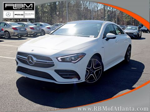 New 2020 Mercedes-AMG CLA AMG CLA 35 4MATIC Coupe