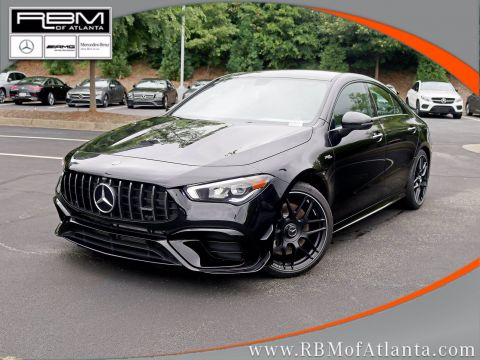 New 2020 Mercedes-Benz CLA AMG® CLA 45 4MATIC® Coupe