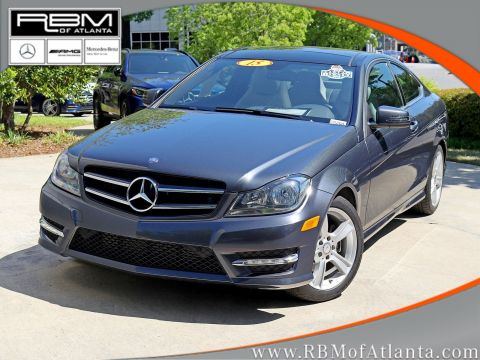 Pre-Owned 2015 Mercedes-Benz C-Class C 250 Coupe