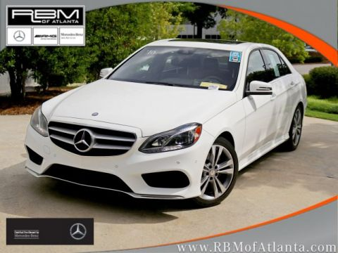 Certified Pre-Owned 2016 Mercedes-Benz E-Class E 350 Sport Sedan