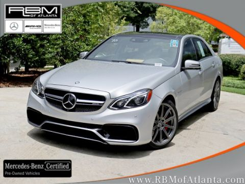 Certified Pre-Owned 2016 Mercedes-Benz E-Class AMG® E 63 S 4MATIC® Sedan
