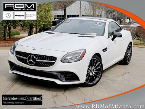Certified Pre-Owned 2019 Mercedes-Benz SLC SLC 300 Roadster
