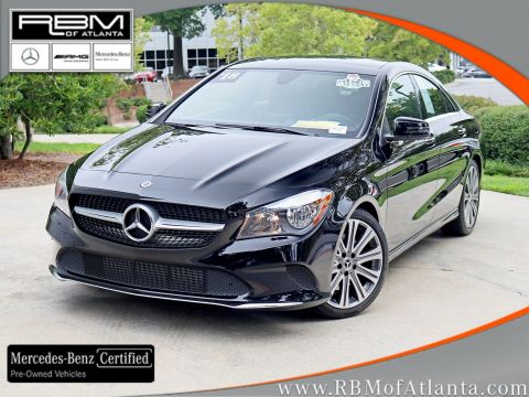 Certified Pre-Owned 2018 Mercedes-Benz CLA CLA 250 4MATIC®