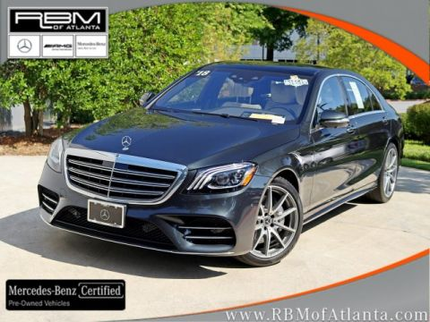 Certified Pre-Owned 2018 Mercedes-Benz S-Class S 450 4MATIC® Sedan