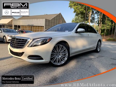 Certified Pre-Owned 2017 Mercedes-Benz S-Class S 550 Sedan