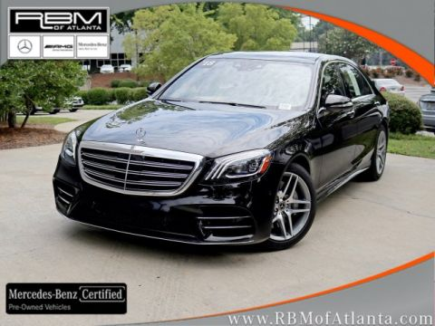 Certified Pre-Owned 2018 Mercedes-Benz S-Class S 560 Sedan