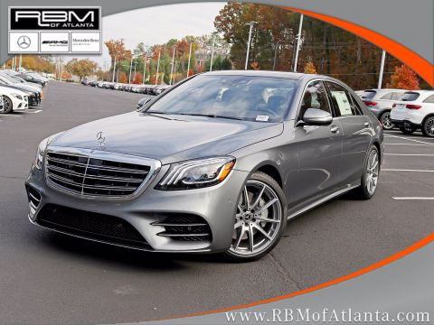 New 2020 Mercedes-Benz S-Class S 560 Sedan
