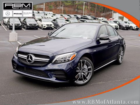 New 2020 Mercedes-AMG C-Class AMG C 43 4MATIC Sedan