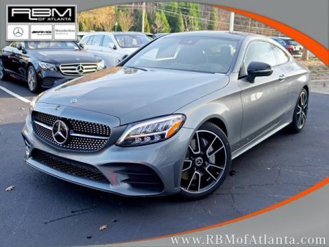 New 2019 Mercedes-Benz C-Class C 300 Coupe