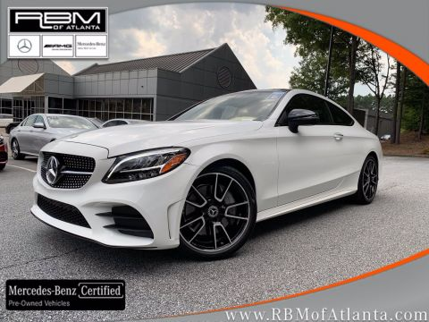 Certified Pre-Owned 2019 Mercedes-Benz C-Class C 300 Coupe